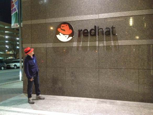 James just James at RedHat headquarters in North Carolina