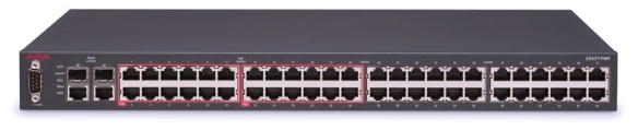 a 48 port, 1U switch